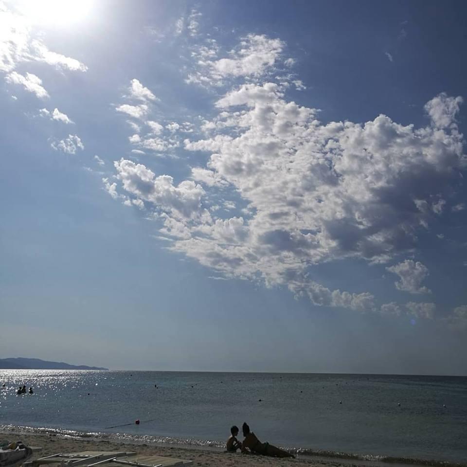 Cielo, nuvole e mare